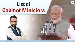 Cabinet Ministers of India 2019 | General Awareness | Bank | SSC | Railway