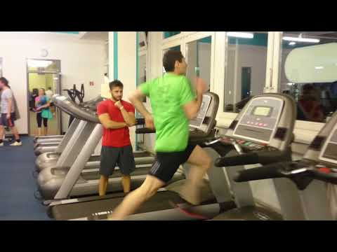 Treadmill Challenge, 1 minute at 25 km/h
