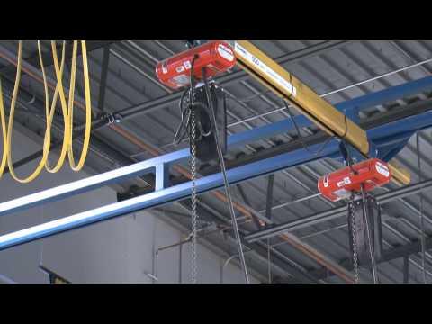 Gorbel Work Station Crane at Stewart Haas