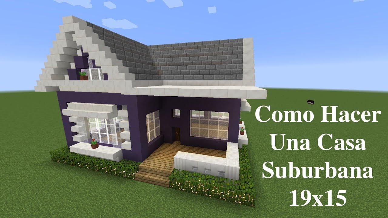 Como hacer una casa suburbana 19x15 pt1 youtube for Hacer casas