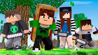 JOGANDO BEDWARS COM INSCRITOS !! - Minecraft