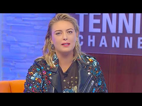 """Maria Sharapova Book Signing & Interview 