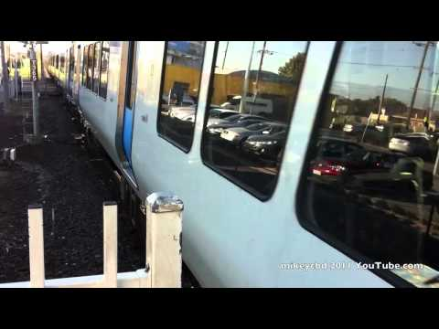 Metro Rail Epping Train overshoots Platform at Preston Station Melbourne Victoria