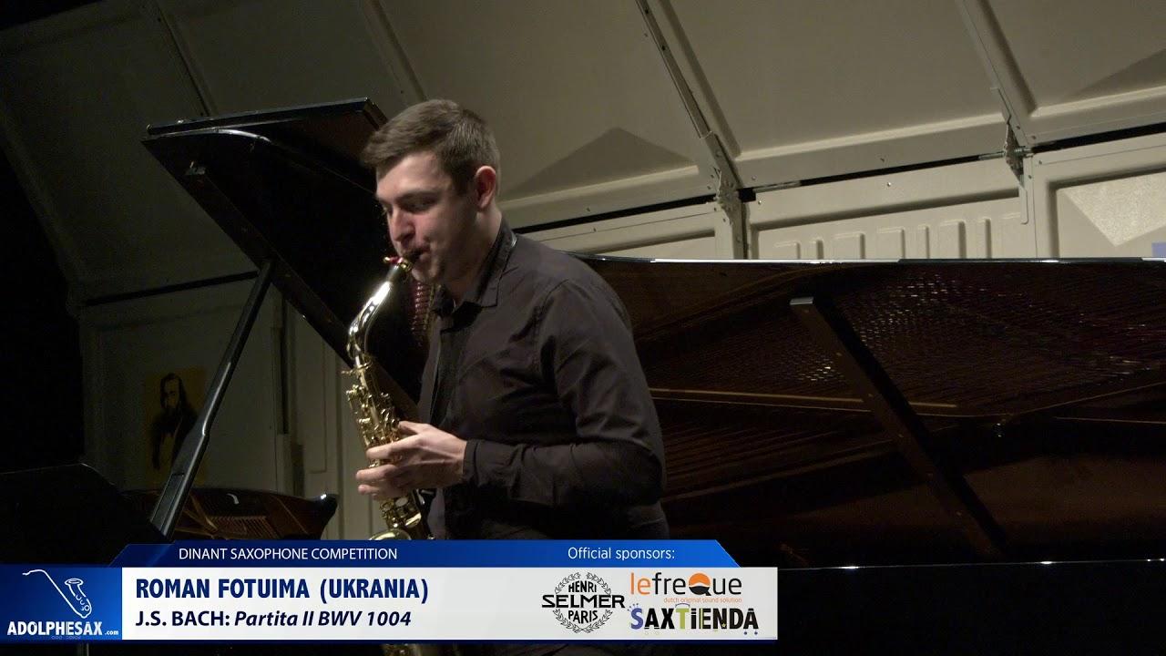 Roman Fotuima (Ukraine) - Partita II by J.S.Bach (Dinant 2019)