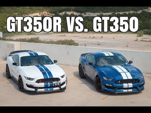 Shelby GT350R vs. GT350 - What Are The Differences?
