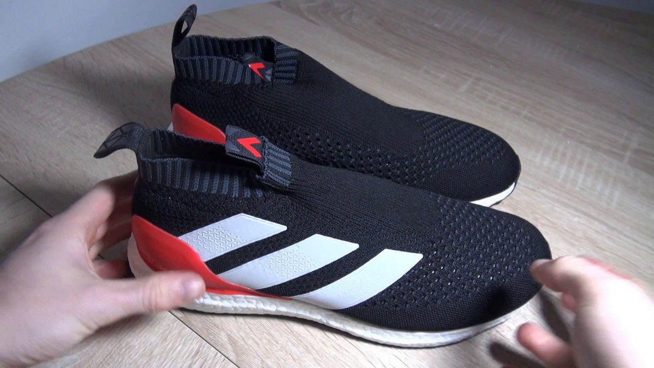 more photos 7855e fe2b1 adidas ACE 16+ PureControl ultra boost - View Red Limit Edition - YouTube