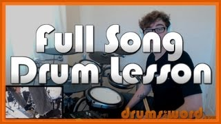 ★ Scar Tissue (RHCP) ★ Drum Lesson PREVIEW | How to Play Song (Chad Smith)