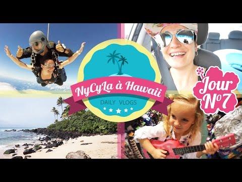 [Daily Vlog NyCyLa à Hawaii] Jour 7 - J'ai sauté en parachute !