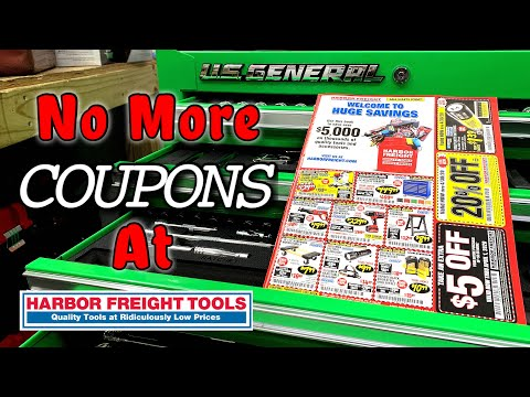 Harbor Freight Discontinues Coupons and All Catalogs End of Era