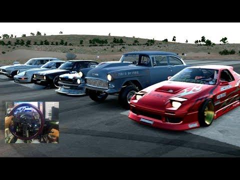 Forza Horizon 3 GoPro HOONIGAN Car Pack DRAG RACE ONLINE w/Crew