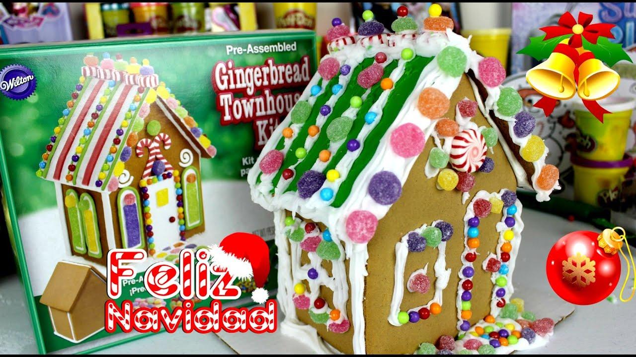 Decoremos la Casita de Jengibre| Casita de Navidad |Gingerbread ...