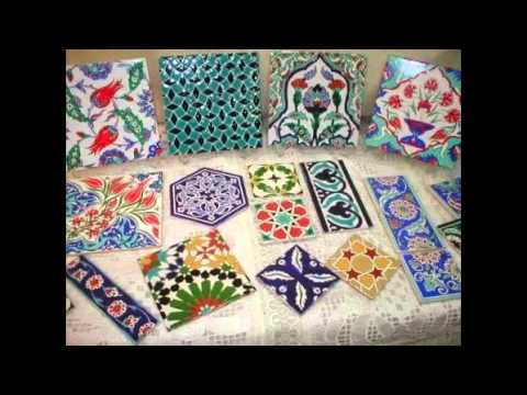 Hand Painted Tiles Youtube