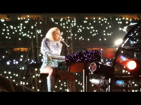 Lady Gaga Halftime Show Filmed From Audience On The Field