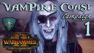 LUTHOR THE MAD! Total War: Warhammer 2 - Vampire Coast Campaign - Luthor Harkon #1