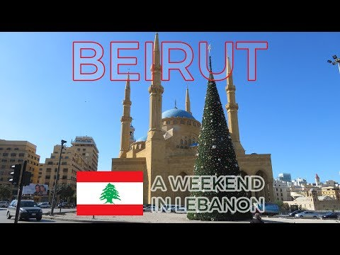 Walking around Beirut, Lebanon 2018 | Tourist sights and att