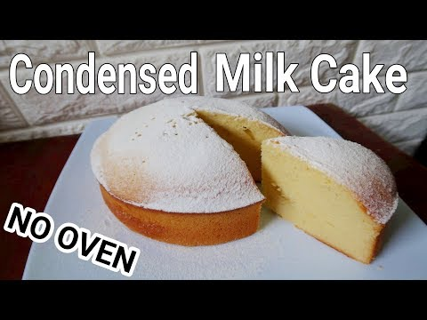 Condensed Milk Cake Recipe Without Oven | How To Make Condensed Milk Cake
