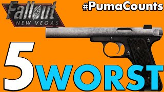 Top 5 Worst Guns and Weapons in Fallout New Vegas PumaCounts
