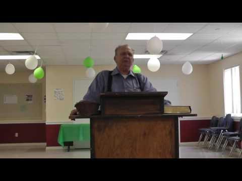 The Preacher, Bill Carr, Sunday, May 8, 2016