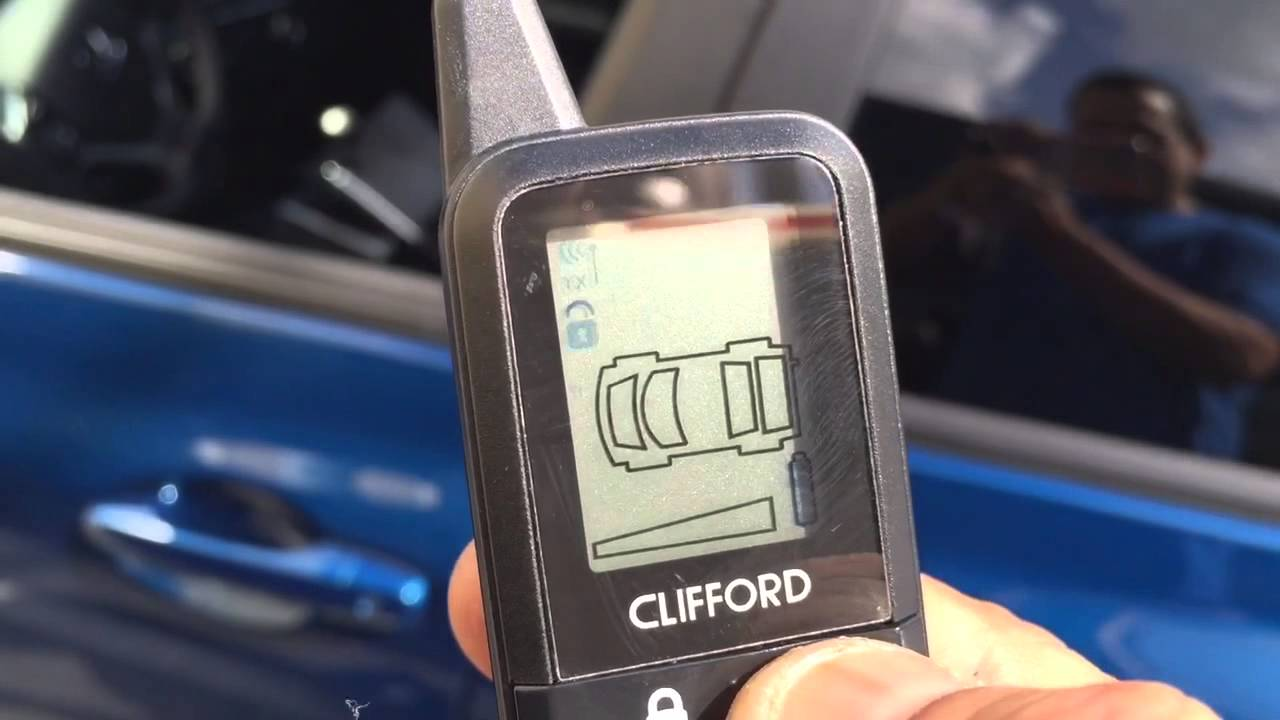 Clifford X Car Alarm
