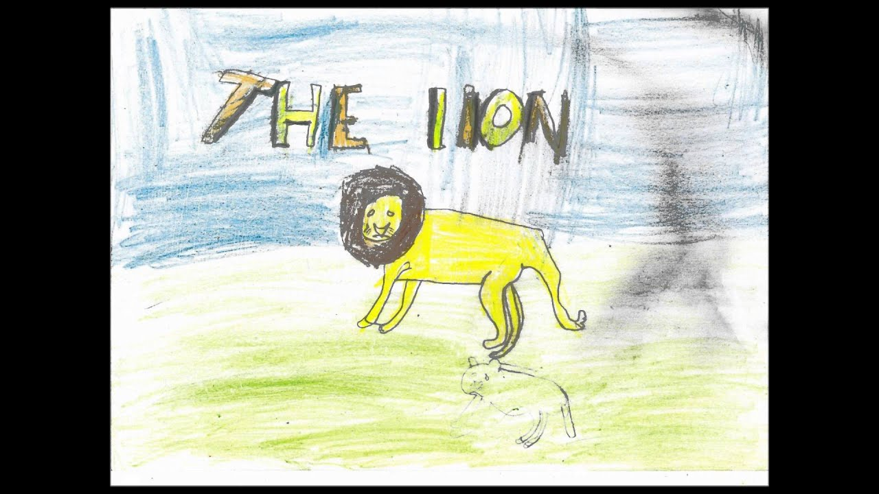 the lion and the lamb story by leonard clark