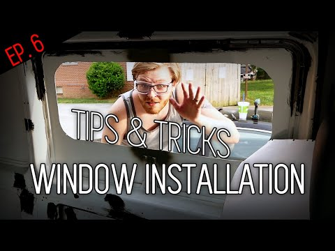 How To Install A Window In A Van | DIY Van Conversion, Step-by-Step Window Installation