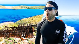 Camping At Remote Islands NUCLEAR BOMBS Were Detonated On (Fishing, Diving \u0026 Exploring) - Ep 286