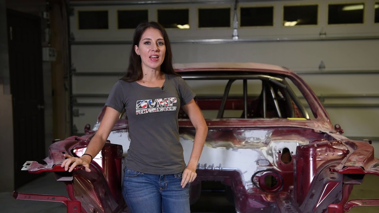 VMP Performance | Rebecca Starkey Racing's 2018 Race Car Build a Ford Mustang | Episode 2 - YouTube