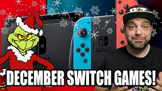 The BEST Switch Games for December 2020 - What's NEW On The Switch!