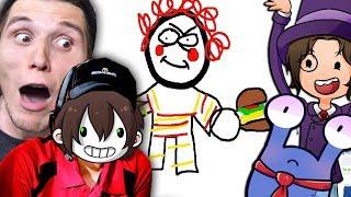 Wenn das McDonalds sieht bekommen wir ÄRGER ☆ Skribbl.io