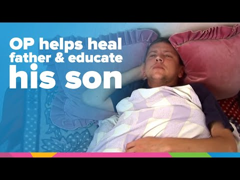 OP Helps Heal Sick Father & Educate His Son | Ukraine | Orphan's Promise