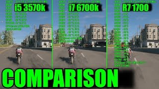 11 GAMES GTX 1080 Ti OC & Ryzen 7 1700 - i7 6700k - i5 3570k | 1080p | FRAME-RATE TEST COMPARISON