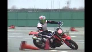 Motorcycle Gymkhana 20101212 HSR九州 HSR杯 バイクジムカーナ大会