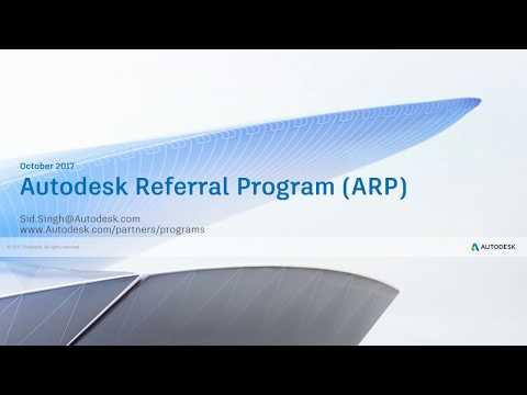 Autodesk Referral Program (ARP)