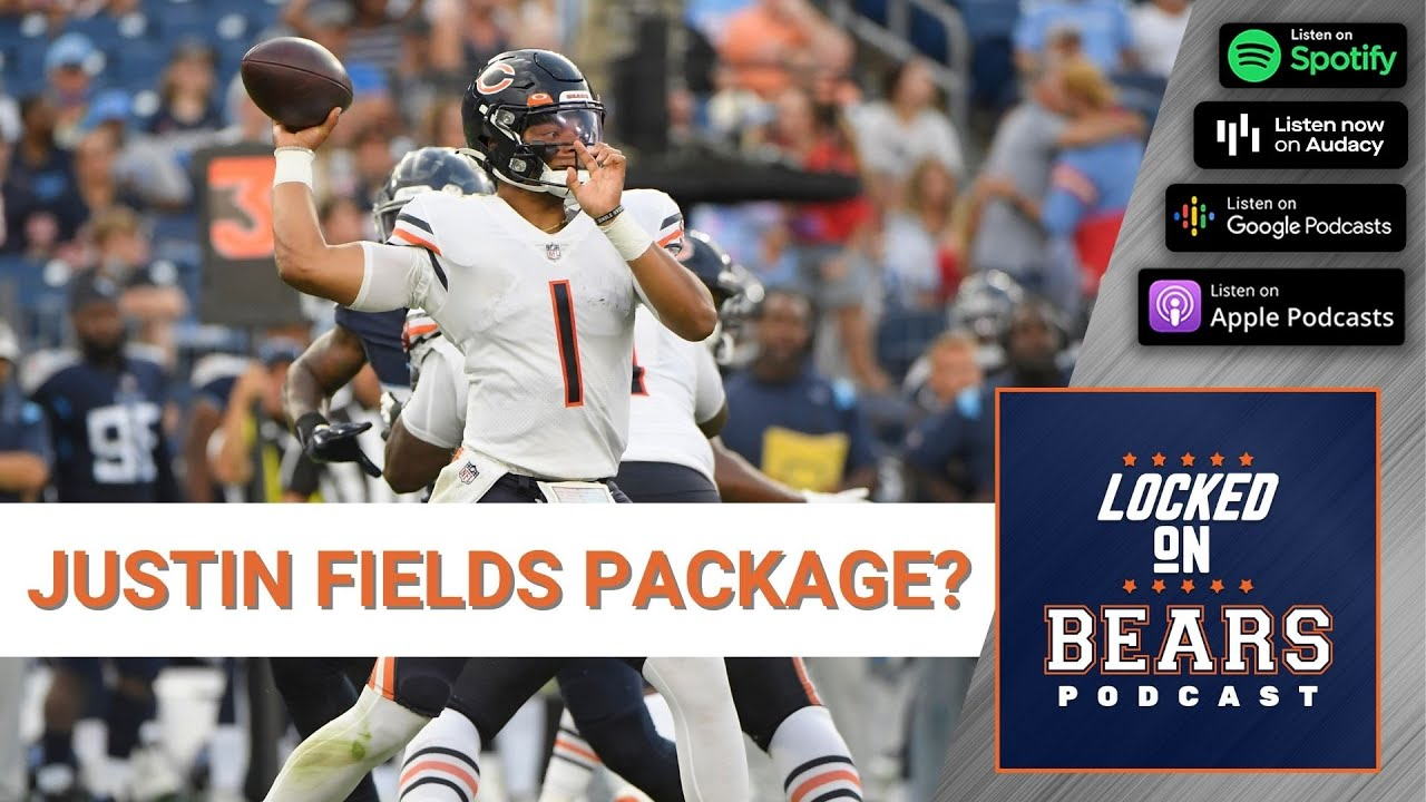 Chicago Bears have prepared Justin Fields packages vs. Rams