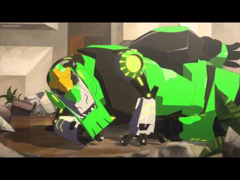 Transformers Robots in Disguise Grimlock vs Scowl (Round 2)