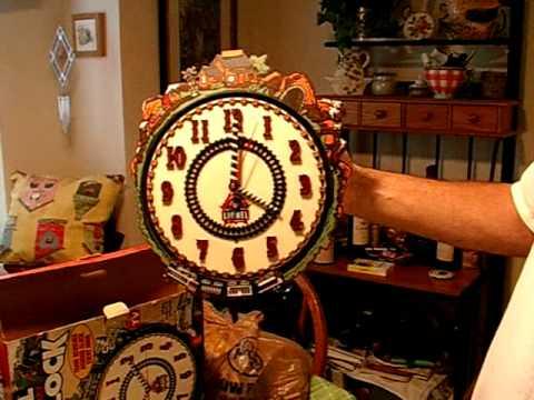 lionel  anniversary train clock imgp youtube