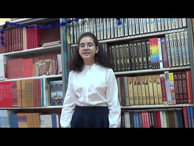 Изображение предпросмотра прочтения – ЛораГригорян читает произведение «Ещё шумел веселый день...» Ф.И.Тютчева