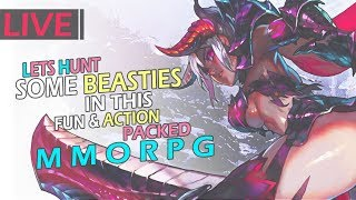 LIVE - One Of The Best New Action MMORPGs! - Monster Hunter Online (MHO)