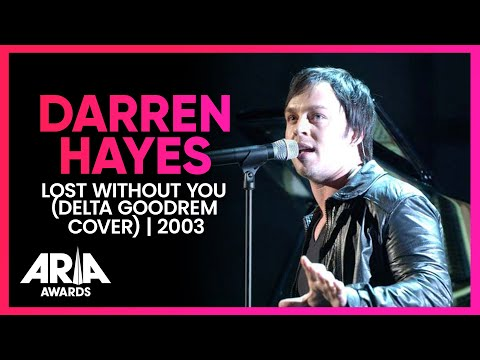 Darren Hayes: Lost Without You (Delta Goodrem Cover) | 2003 ARIA Awards