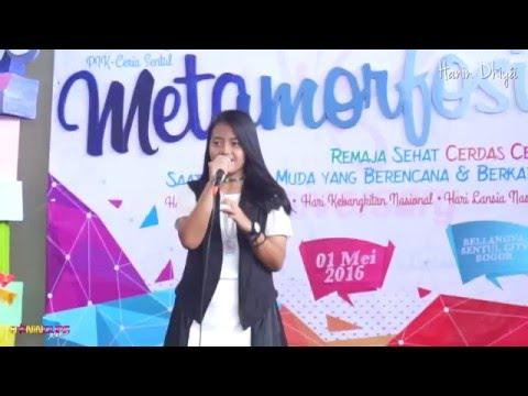 Hanin Dhiya - Fight Song at Bellanova Sentul