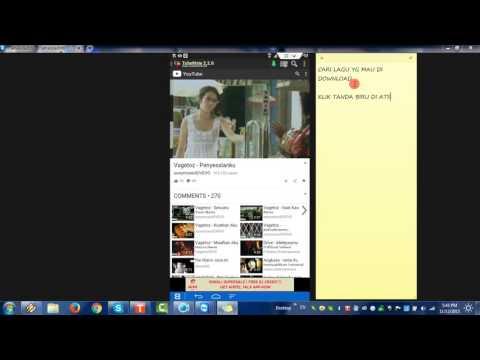 CARA DOWNLOAD VIDEO/MP3 MENGGUNAKAN TUBEMATE