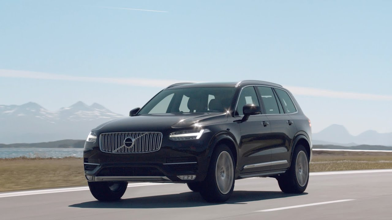 2015 volvo xc90 first drive youtube. Black Bedroom Furniture Sets. Home Design Ideas