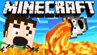 Minecraft - STUPID LAVA BUCKET!