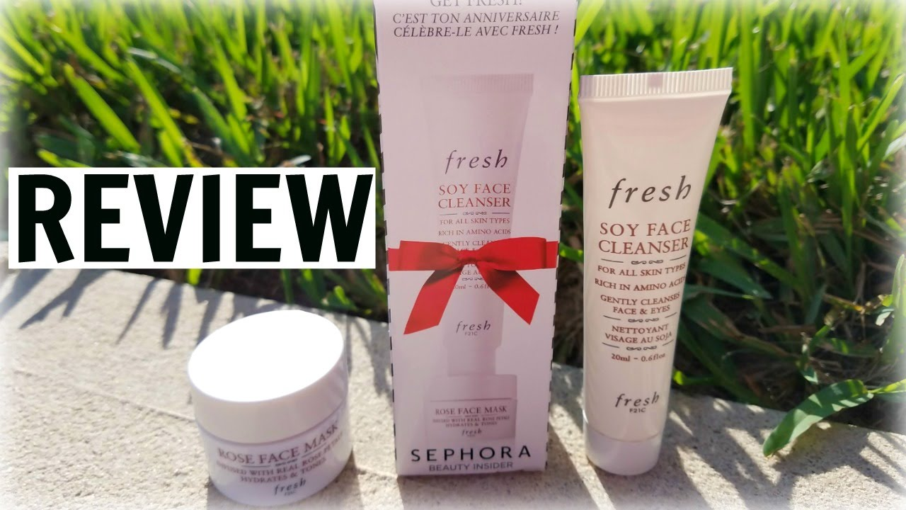 Soy Face Cleanser by fresh #12