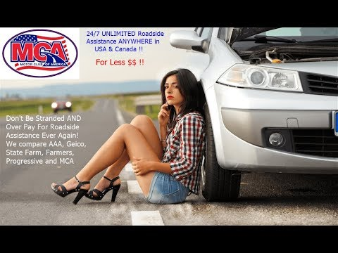 MCA Roadside Assistance Plan Comparison With AAA, Geico, All State, State  Farm