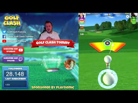 Golf Clash tips, Playthrough, Hole 1-9 - ROOKIE - Winter Slopes Tournament!