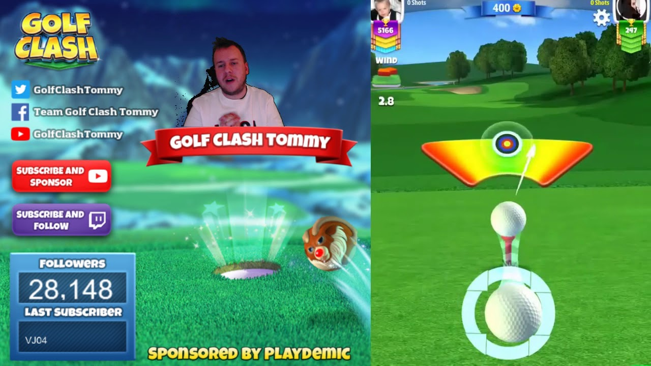 Golf Clash Tips Playthrough Hole 1 9 Rookie Winter Slopes Tournament Youtube