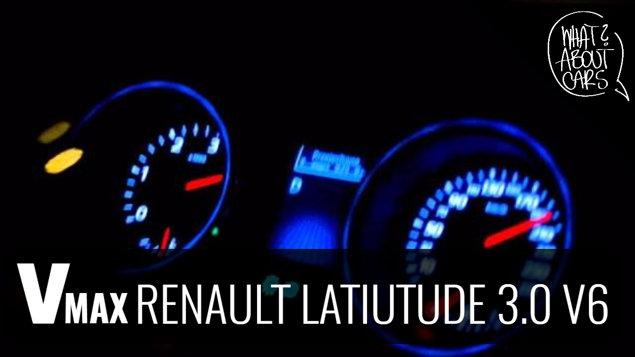 renault latitude 3 0 v6 dci acceleration youtube. Black Bedroom Furniture Sets. Home Design Ideas