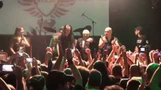 Metal Singers (Blaze + Ripper + Udo + Mike) Living After Midnight LIVE