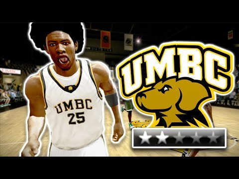 The Best 16-Seed in NCAA History | NCAA Basketball 10 UMBC Dynasty Ep. 1
